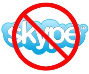 Telia blockerar Skype